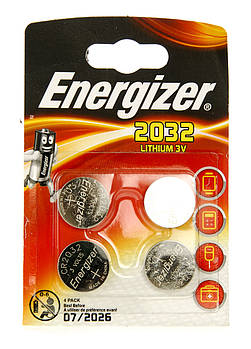 Літієва батарейка Energizer 2032 Lithium 3v
