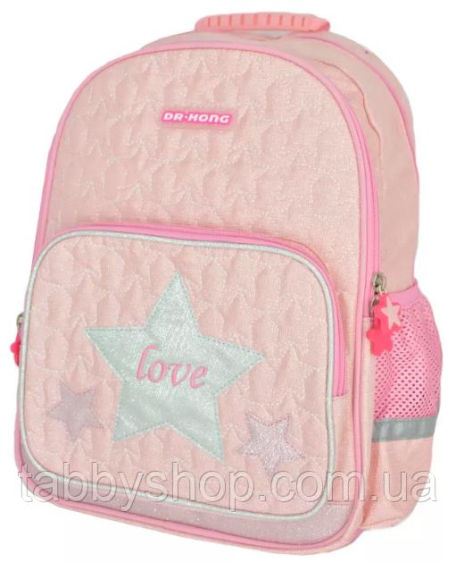 Рюкзак шкільний ортопедичний Dr. Kong Z1100054 рожевий для дівчинки