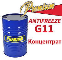 Антифриз G11 Green концентрат бочка (зеленый) TM Premium 200 л