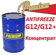 Антифриз G12 концентрат бочка (красный) TM Premium 200 л