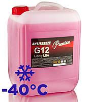Антифриз красный G12/12+ Red LongLife TM Premium 10 кг