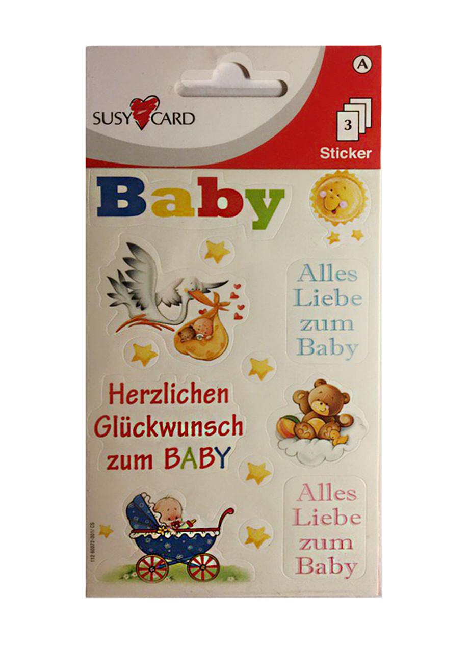 "Наклейки детские ""Baby"" Susy Card"