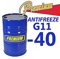 Антифриз G11 Blue синий бочка TM Premium 200 л