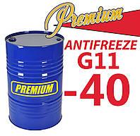 Антифриз G11 Green зеленый TM Premium 200 л