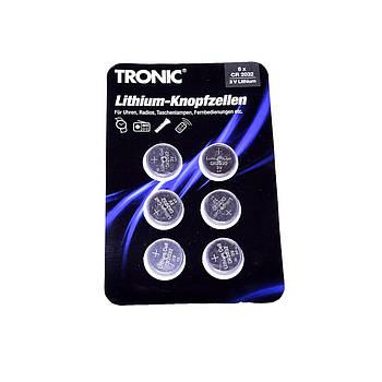 Батарейки таблетки Tronic СR2016 6 шт