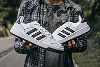 Мужские кроссовки Adidas New Forum Белые, Реплика, фото 1