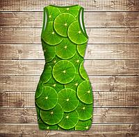 Платье-майка-Green lime