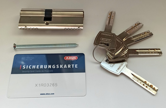 Цилиндр замка Abus M12R 60 мм ключ ключ