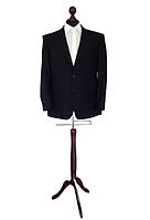 Манекен мужской для костюмов производитель Ailant размер 50/52 черный чехол на деревянной подставке