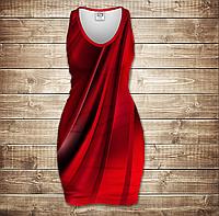 Платье-майка 3D-Red queen
