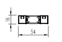 KMD.70.PV04 Профиль порога 16 мм (6,5 м) RAL 9016 белый