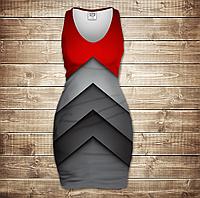 Платье-майка 3D-Fantastic tehno