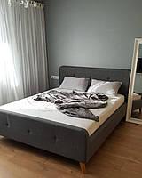 Двуспальная кровать Signal Malmo 160X200 см Серый (MALMO160SZD)