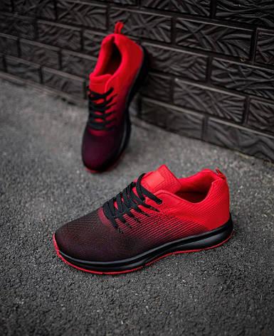 Кроссовки мужские красные Арес 44,45,46 размер, фото 2