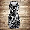 Плаття - майка 3D -   Механіка