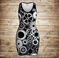 Платье-майка 3D-Механика