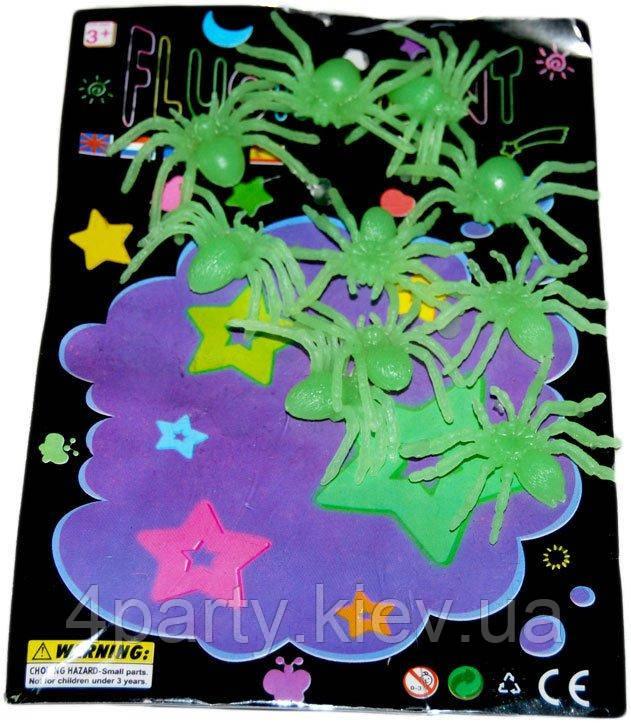 Набор пауков разноцветные 090316-033