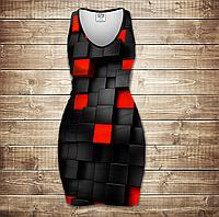 Платье-майка 3D-Undegraund red cub