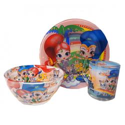 Детская стеклянная посуда