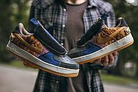 Мужские кроссовки Force x Travis Scott ,  Реплика, фото 1