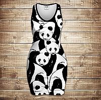 Плаття - майка 3D -  Світ панд, фото 1