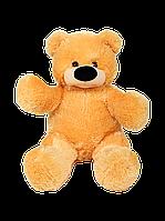 М'яка іграшка ведмідь Бублик 77 см медовий, фото 1