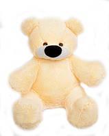 Плюшевая игрушка Медведь Алина Бублик 95 см персиковый, фото 1