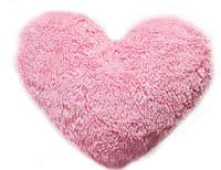 Большая подушка Алина Сердце 75 см розовый, фото 1