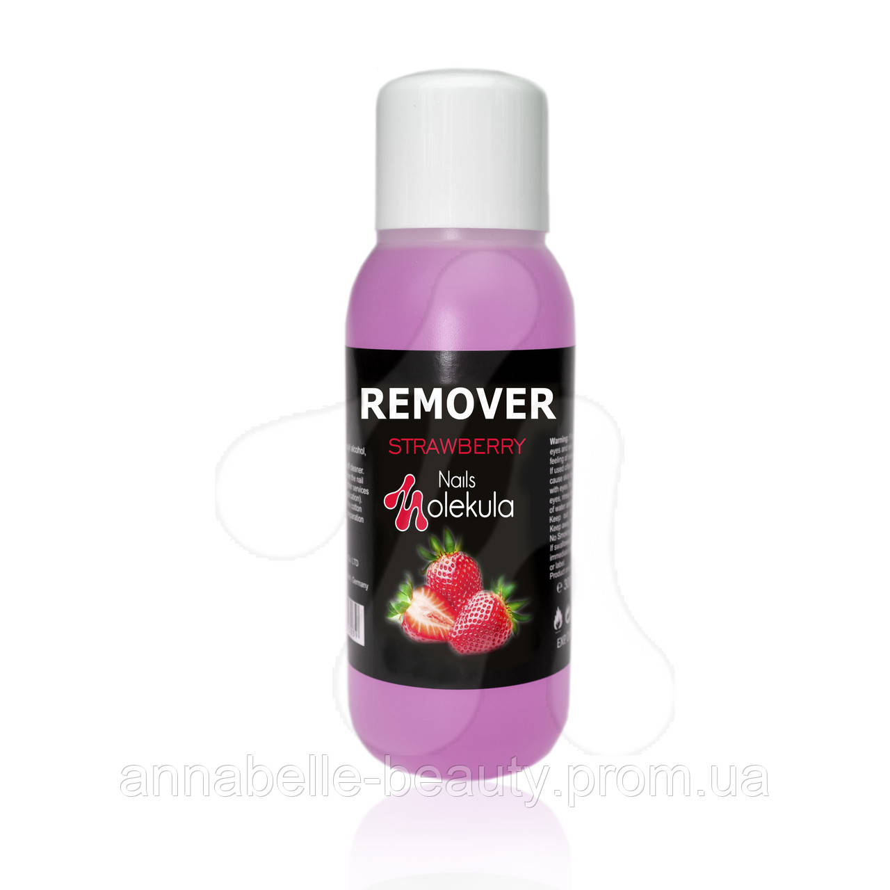 Remover - средство для снятия гель-лака и биогеля 300мл STRAWBERRY (клубника)