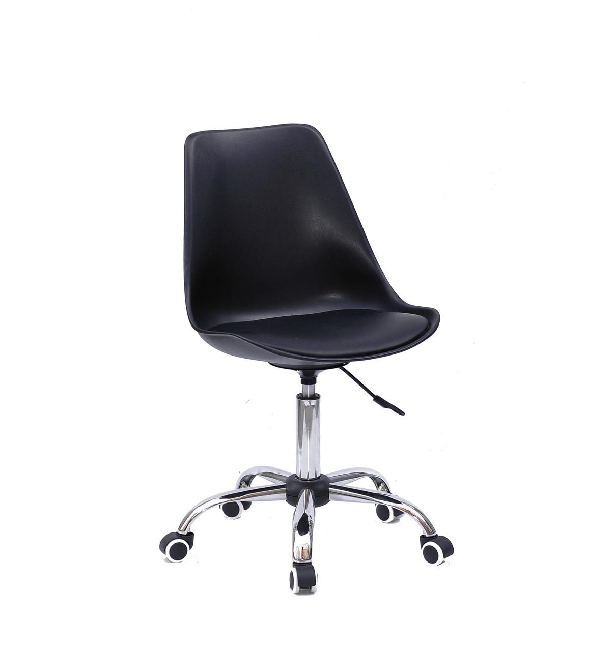Кресло офисное  на колесах  ALBERT  CH- OFFICE   ,  черный