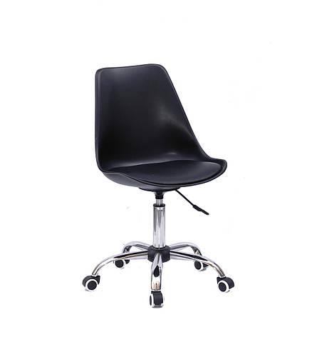 Кресло офисное  на колесах  ALBERT  CH- OFFICE   ,  черный, фото 2