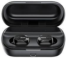 Бездротові навушники Baseus W01 чорні