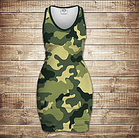 Платье-майка 3D-Camuflage classic
