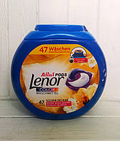Капсулы для стирки Lenor Color 3in1 47шт. (Италия), фото 1