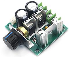 Контролер ШІМ. Управління швидкістю двигуна постійного струму з регулюванням 12-40В 10А