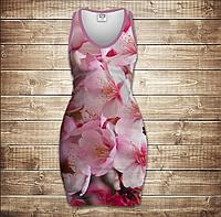 Платье-майка 3D -Сакура