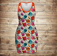 Плаття - майка 3D - Color sculls, фото 1