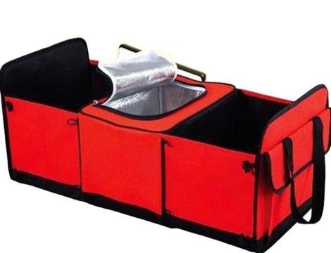 Органайзер - холодильник у багажник автомобіля Trunk Organizer & Cooler