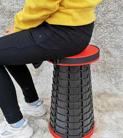 Складаний портативний стілець Telescopic Stool для пікніка, туризму, риболовлі
