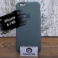 Силиконовый чехол для iPhone 6/6S Soft Бледно зеленый, фото 1