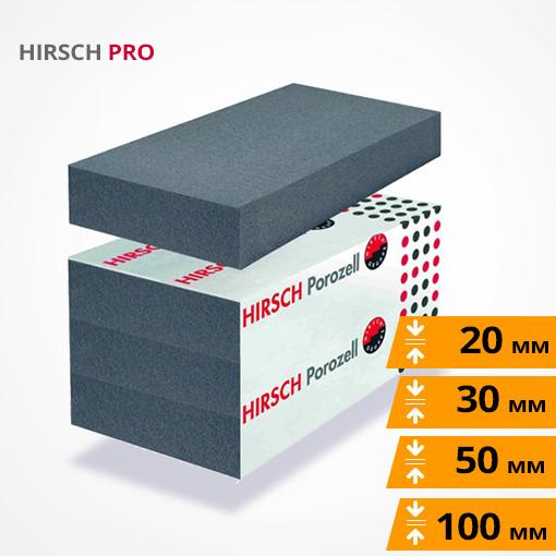 HIRSCH PRO ХИРШ графитовый пенополистирол повышенной плотности