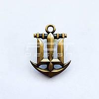 Кокарда, Беретный знак Военно-Морских Сил латунная