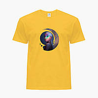 Детская футболка для девочек Ариана Гранде (Ariana Grande) (25186-1622) Желтый, фото 1