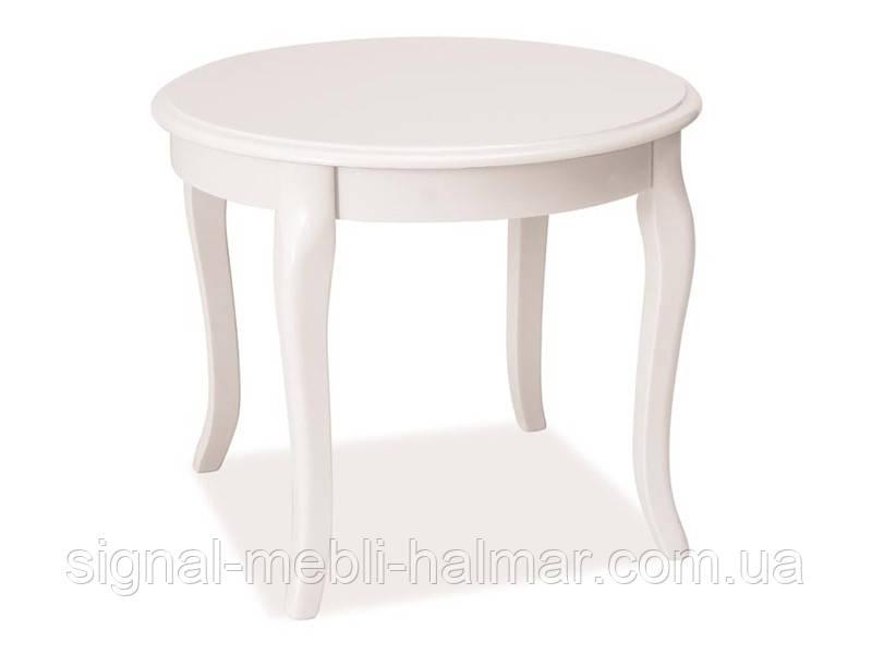 Журнальный столик Royal D белый (Signal)