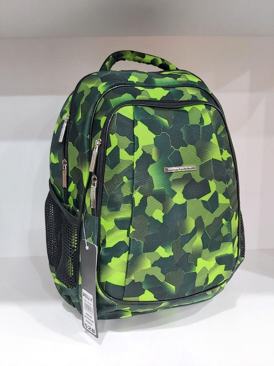 Школьный рюкзак для мальчиков с ортопедической спинкой Dolly 528