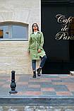 Пальто женское тренч с поясом удлиненное ткань парка размер: 48-50,52-54,56-58,60-62, фото 9