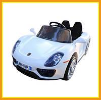 Детский электромобиль Porsche (Белый)