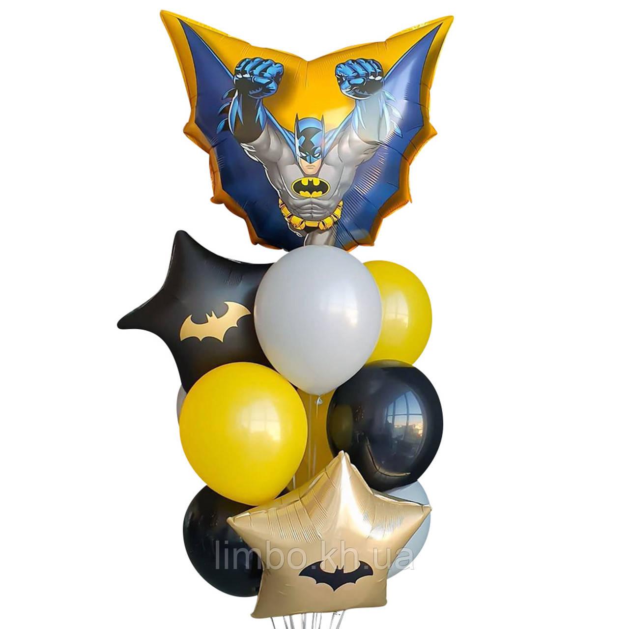 Черные шары на др в стиле Бетмена