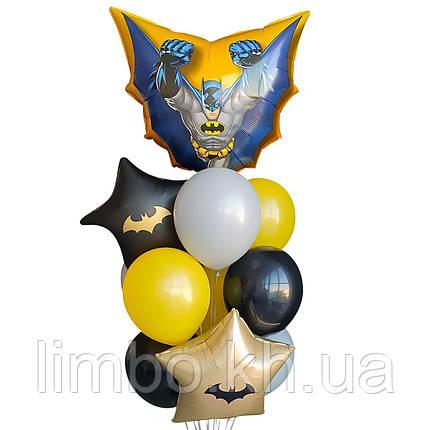 Черные шары на др в стиле Бетмена, фото 2