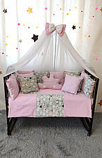 Комплект постельного белья в детскую кроватку Облако код1999, фото 3